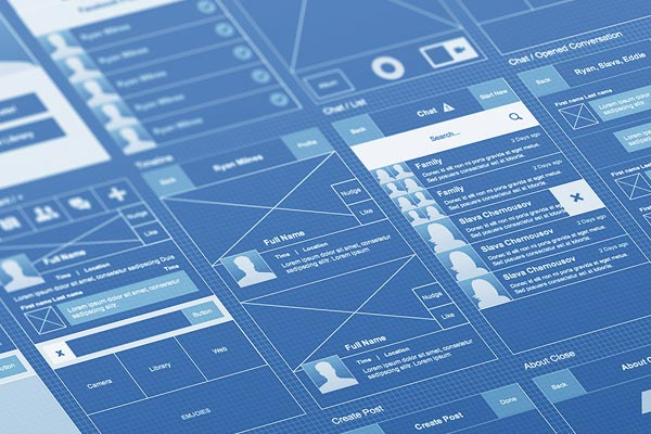 BluePrints Wireframes 5